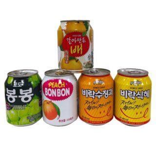 各種 缶ジュース